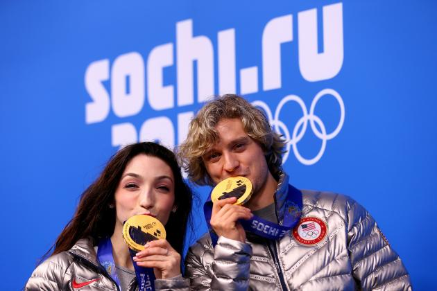 Charlie White Celebrates Olympic Gold Medal by Playing Violin on 'Today'