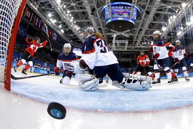 Canadian Olympic Hockey Team 2014: Keys vs. USA in Women's Gold-Medal Game