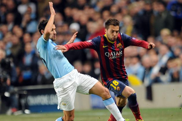 Manchester City vs. Barcelona: Live Player Ratings for Both Teams
