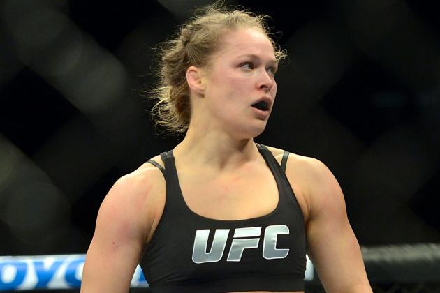 Ronda Rousey: What a Win over Sara McMann Does for Her Legacy
