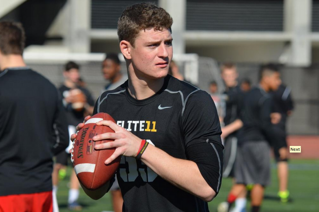 USC QB Commit Ricky Town Named 247Sports' No. 1 Recruit in Class of 2015