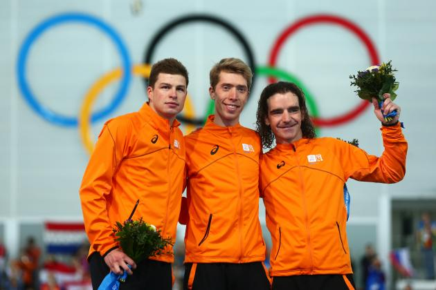 Dutch Speedskaters Continue to Rack Up Medals at Sochi Olympics