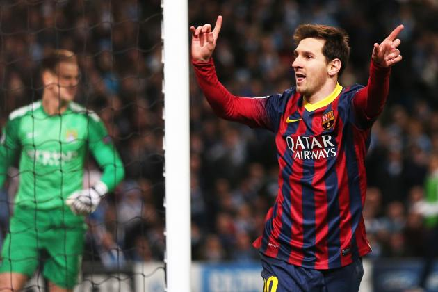 Manchester City vs. Barcelona Score, Grades and Post-Match Reaction
