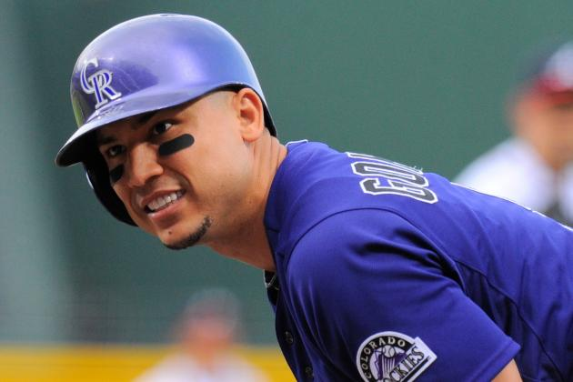 Carlos Gonzalez Hits Rockies Spring Training Hoping to Stay Healthy