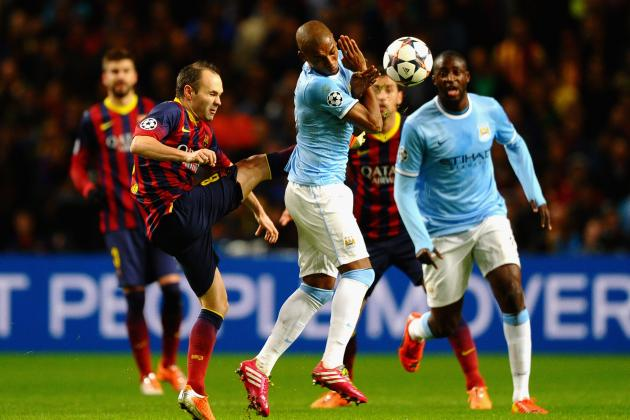 Film Focus: Man City Match Barcelona in Midfield, Demichelis the Turning Point