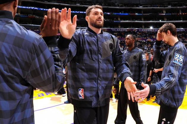 LA Lakers, Dallas Mavericks Reportedly Targeting Kevin Love Trade