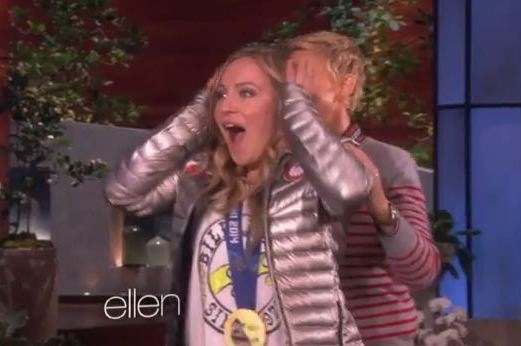 Olympic Gold Medalist Jamie Anderson Surprised by Family on 'Ellen'