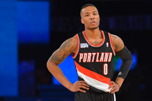 Portland's Damian Lillard Holds NBA Record for Three-Pointers Through 2 Seasons