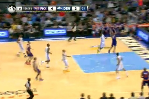 Gerald Green Goes Way Up to Dunk on High-Flying Kenneth Faried