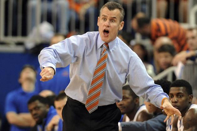 Florida Gators and Billy Donovan Seeking School-Record 18th Consecutive Win
