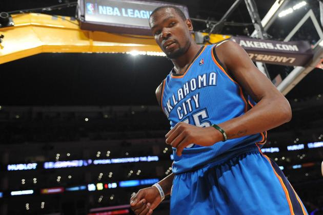 Thunder's Kevin Durant Comes out of All-Star Break with Historic Lead in Points