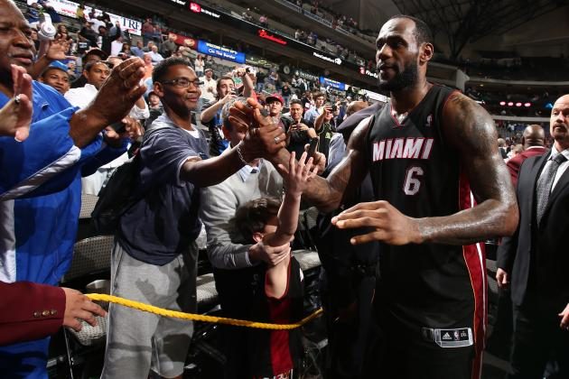 LeBron: Mavs Are 'Reason I Am Who I Am Today'