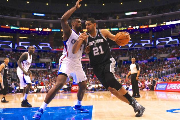 San Antonio Spurs vs. Los Angeles Clippers: Live Score and Analysis