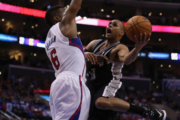 Shorthanded Spurs Beat Clippers 113-103
