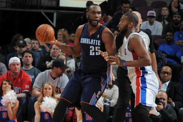 Jefferson's Big Night Helps Bobcats Beat Pistons
