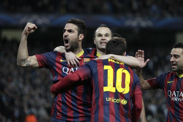 Cesc Fabregas Hits Back at Jose Mourinho After Barcelona Beat Manchester City