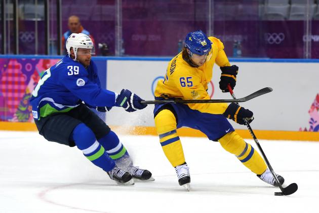 Sweden vs. Slovenia: Score and Recap from Olympics Hockey 2014