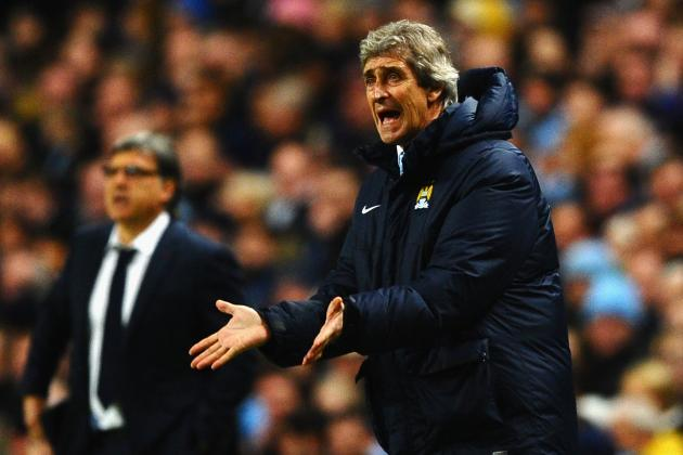 Manuel Pellegrini Told He Was out of Order to Slam Man City vs. Barcelona Ref