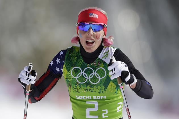 Ladies' Team Sprint Classic Semifinals - Cross-Country - Sochi 2014 Olympics