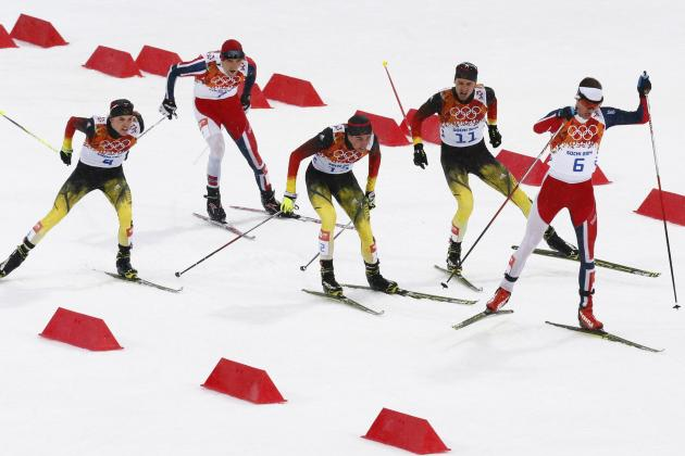 Men's Team Sprint Classic Semifinals - Cross-Country - Sochi 2014 Olympics