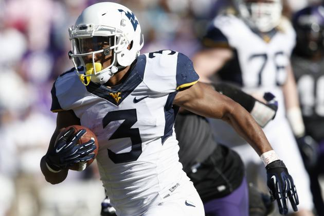 Charles Sims Scouting Report: NFL Outlook for West Virginia RB