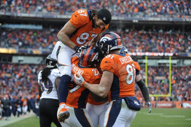 Can the Denver Broncos Afford to Let Knowshon Moreno, Eric Decker Walk?