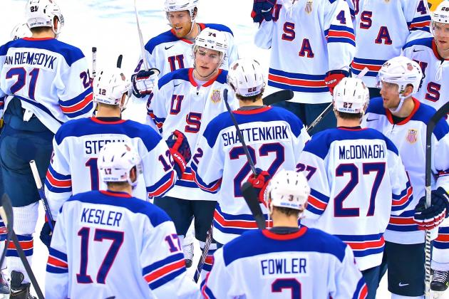 Olympic Hockey 2014: Team USA's Tough Road to Gold Starts with Czech Republic