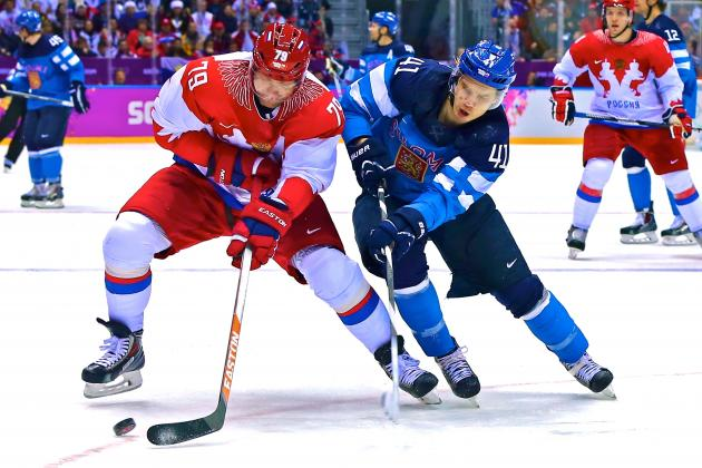 Russia vs. Finland Olympic Ice Hockey: Live Score and Analysis