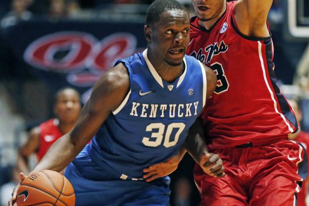 Julius Randle Powers Kentucky Wildcats Past Ole Miss Rebels