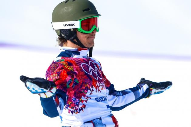 Olympic Snowboarding 2014: Men's Parallel Giant Slalom Medal Winners and Times