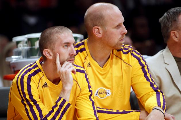 Los Angeles Lakers Reportedly Gauging Trade Interest in Chris Kaman, Steve Blake