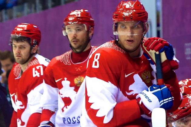 Russia vs. Finland: Score and Recap from Olympics Hockey 2014