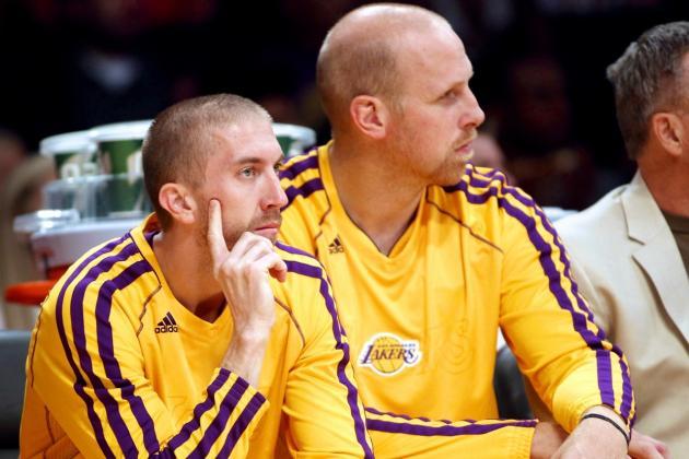 Los Angeles Lakers Reportedly Gauging Trade Interest in Chris Kaman, Steve Blake