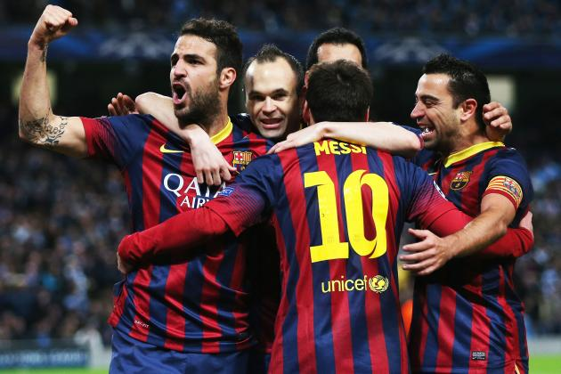 Barcelona Prove They Are Still a Winning Machine in Champions League Victory