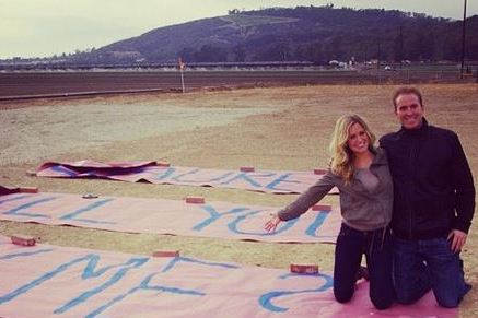 Blue Jays Closer Casey Janssen Pulls off Perfect Proposal After Going Skydiving