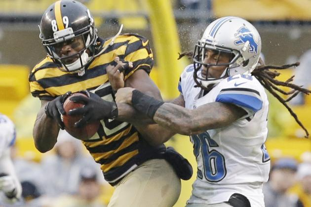 Former Lions Safety Visits Steelers