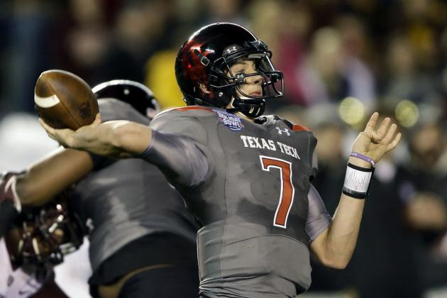 Texas Tech Football: QB Davis Webb Goes from Backup to Invaluable
