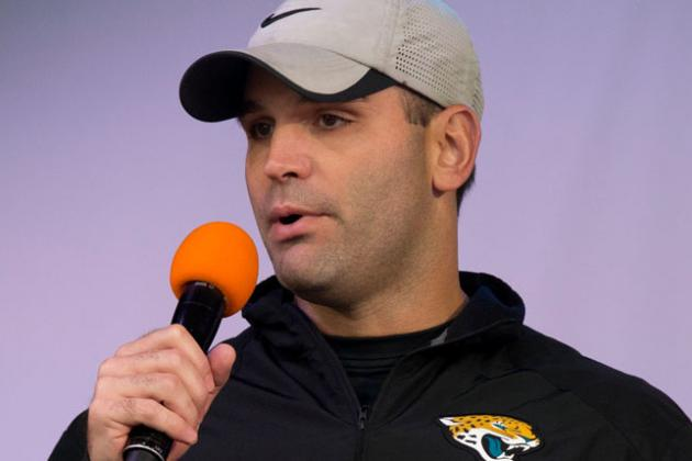 Jaguars GM Leaving All Doors Open -- in the Office and on the Draft Board