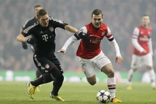 Arsenal vs. Bayern Munich: Gunners Who Can Give Defending Champs Fits