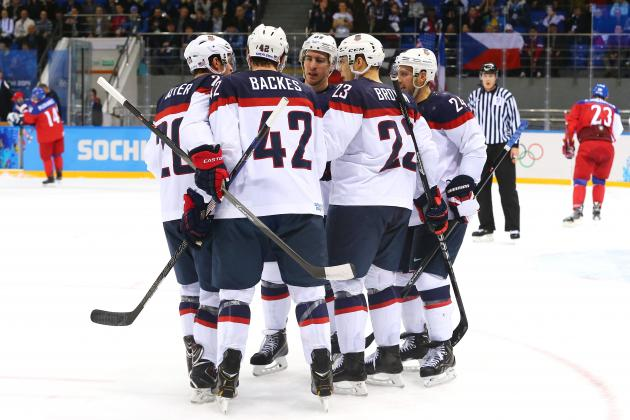 USA vs. Czech Republic Olympic Hockey 2014: Live Grades, Analysis for Team USA