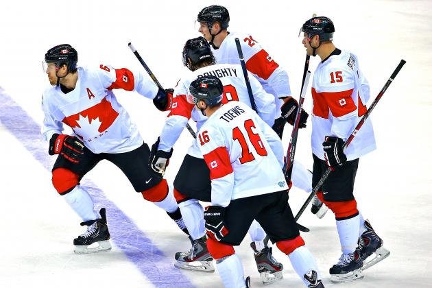 Canada vs. Latvia: Score and Recap from Olympics Hockey 2014