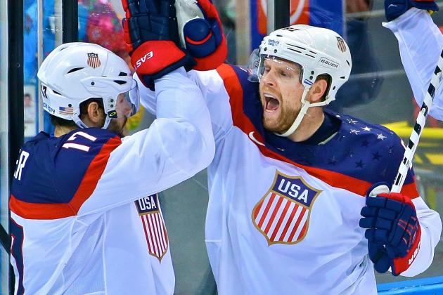 USA vs. Czech Republic: Score and Recap from Olympics Hockey 2014