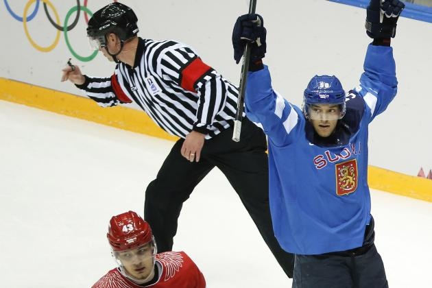 2014 Sochi Men's Hockey Quarterfinals: Finland Dominates Russia, Sends Host Home