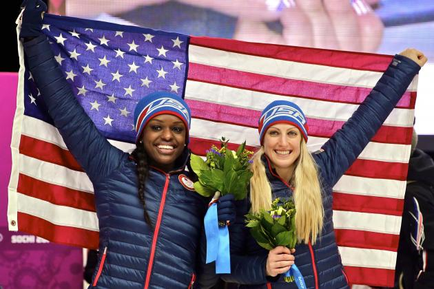 Bobsled Medal Results and Times from Olympic 2014 Women's 2-Man Event