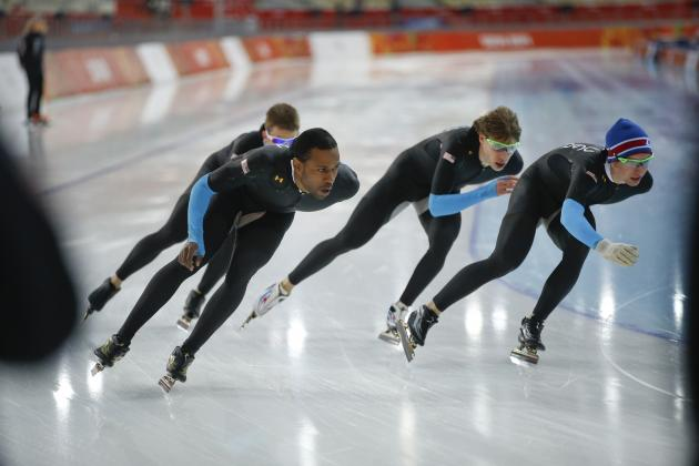 US Olympic Speedskating 2014: Previewing the Men's and Women's Team Events