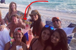Wait, Did Wes Welker Bring a Blow Up Doll on Vacation?