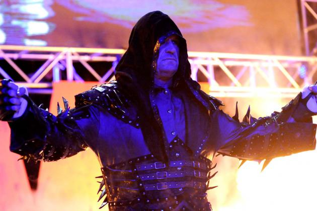 Full Odds for Undertaker's Potential WrestleMania Opponent