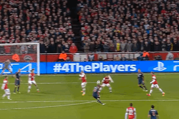 GIF: Toni Kroos Scores Fine Goal for Bayern Munich vs. 10-Man Arsenal