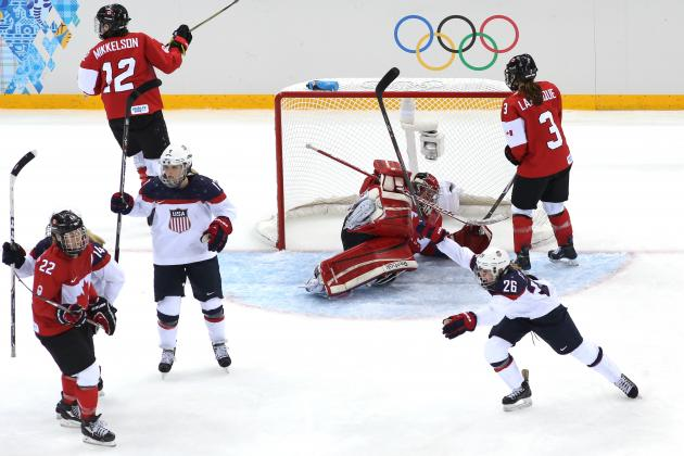 US Olympic Hockey Team 2014 : Previewing Men's and Women's Bouts Against Canada