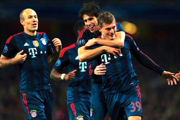 Arsenal vs. Bayern Munich Score, Grades and Post-Match Reaction